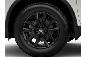 Valve Stem Caps - Exclusive Midnight Black 17 Alloy Wheel (includes center Caps) image for your Nissan